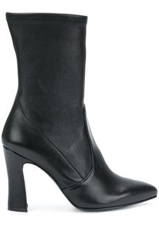 Stuart Weitzman 'clinger' nappa boots - Black