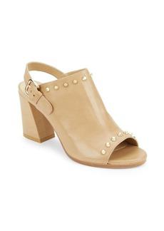 Stuart Weitzman Commodor Block Heel Sandals