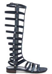 Stuart Weitzman Denim Gladiator Sandals