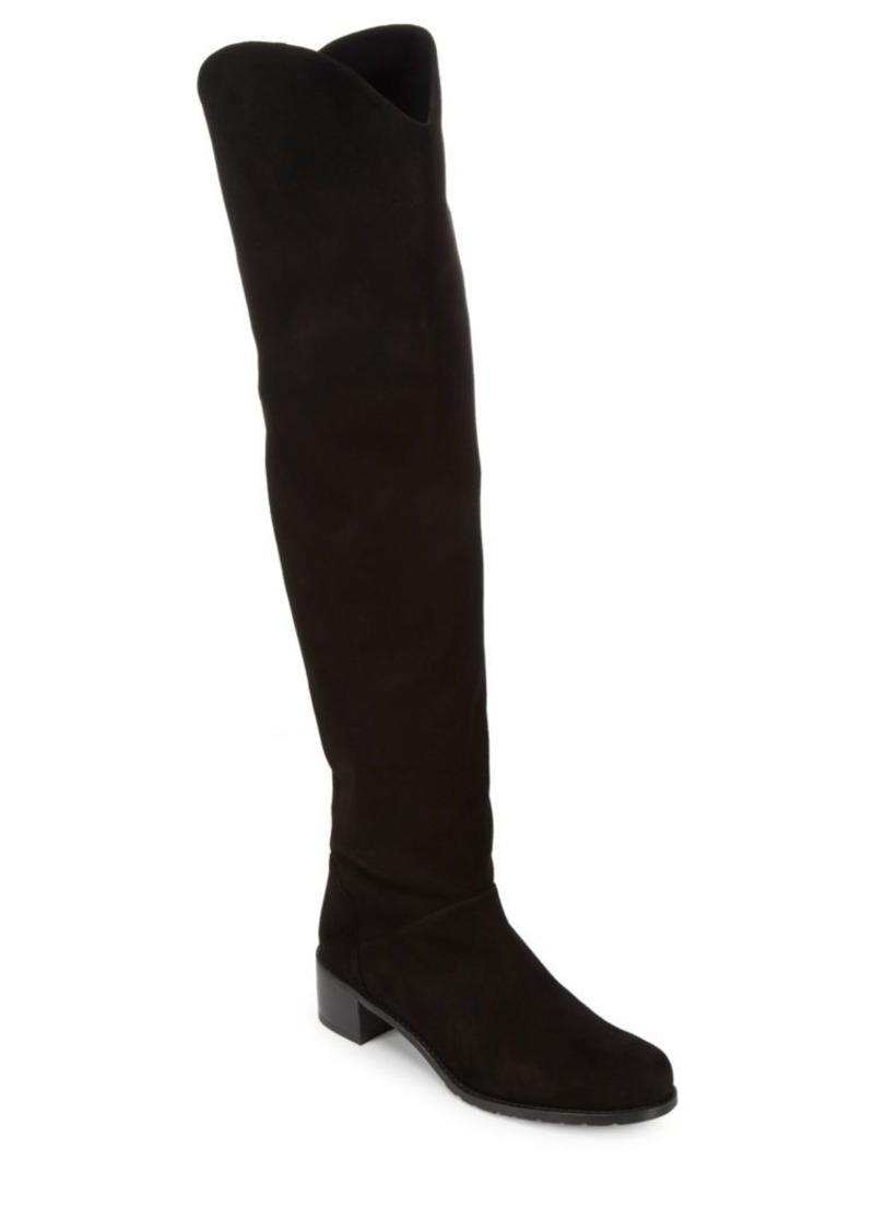 Stuart Weitzman Dunkirk Suede Knee-High Boots