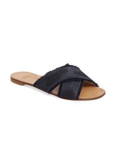 Stuart Weitzman 'Edgeway' Slide Sandal (Women)