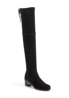 Stuart Weitzman Elevated Over the Knee Boot (Women)