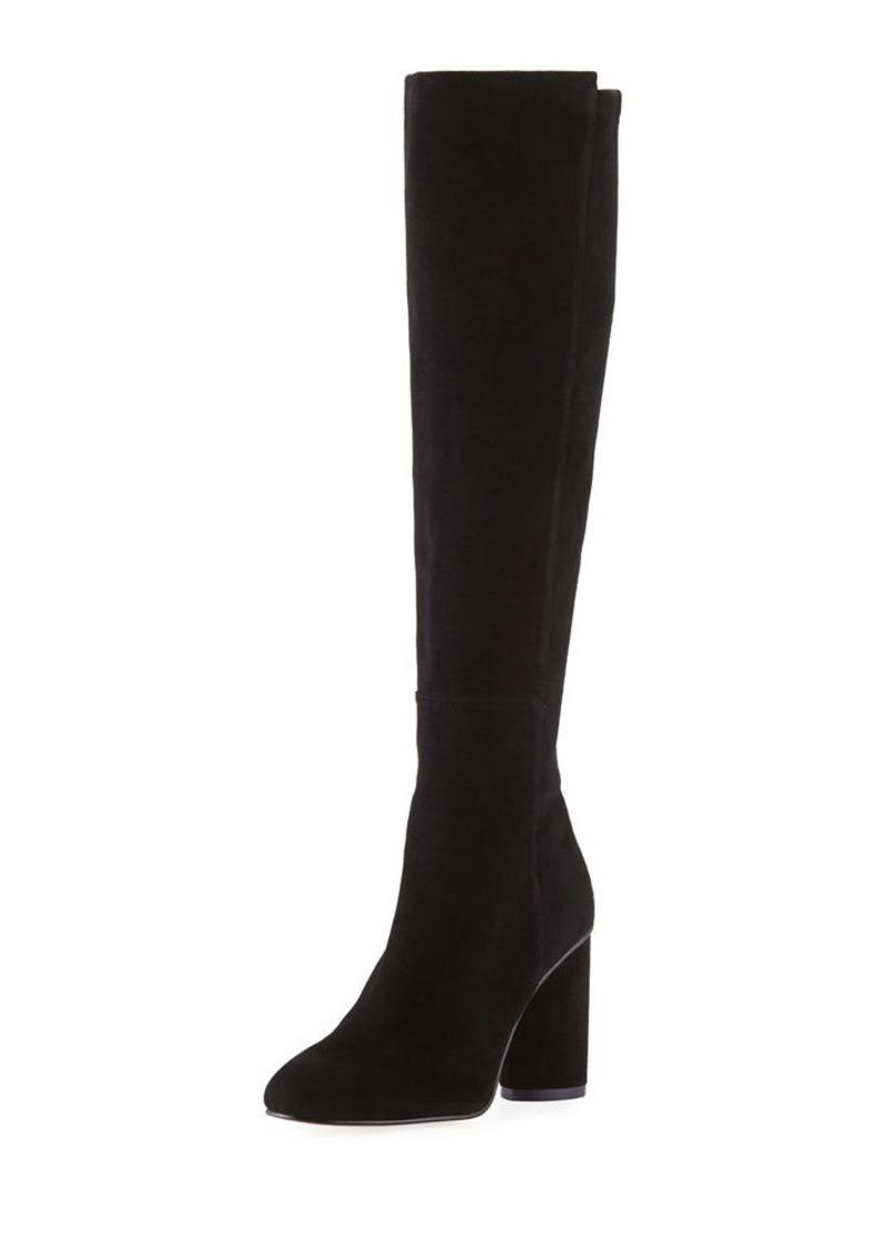 Stuart Weitzman Eloise 95mm Suede Knee Boots