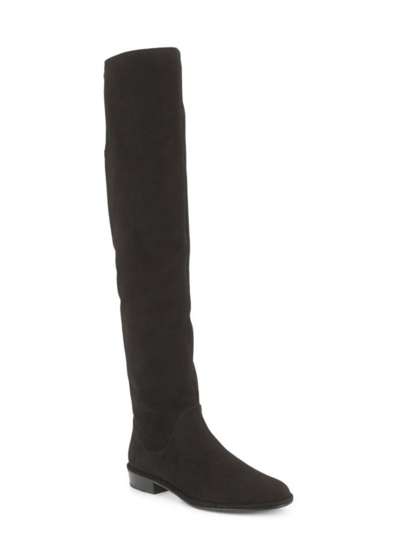 Stuart Weitzman Fan Girl Suede Knee-High Boots