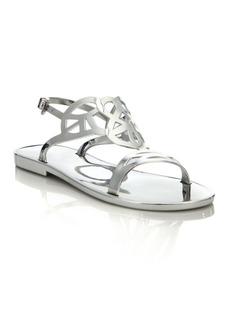 Stuart Weitzman Gelfisher Jelly Slingback Sandals