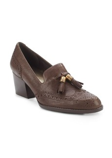 Stuart Weitzman Girlthing Mid-Heel Loafers