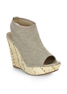 Stuart Weitzman Glover Espadrille Wedge Sandals