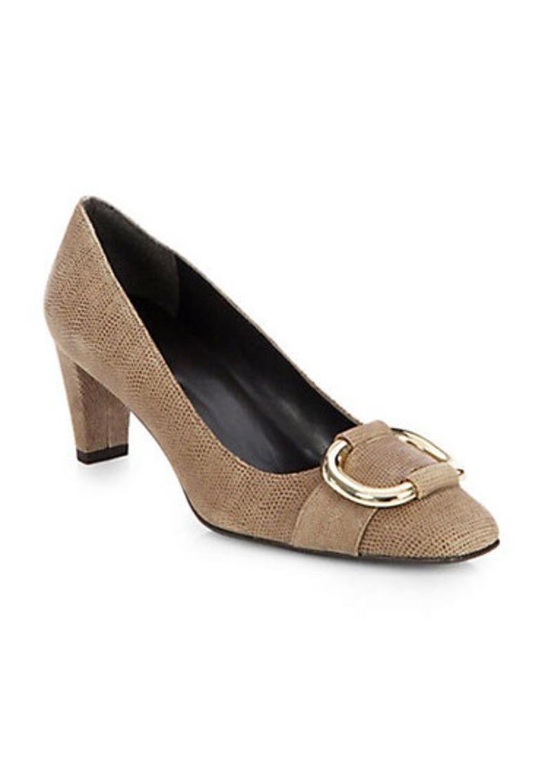 stuart weitzman stuart weitzman goose bump leather pumps shoes shop it to me. Black Bedroom Furniture Sets. Home Design Ideas
