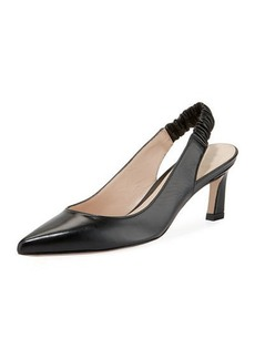 Stuart Weitzman Hayday Leather Slingback Pump