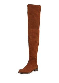 Stuart Weitzman Hilo Over-The-Knee Suede Boot