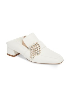 Stuart Weitzman Irises Embellished Loafer Pump (Women)