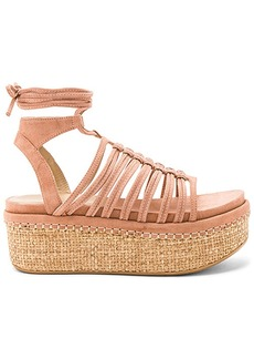 Stuart Weitzman Knotagain Sandal in Blush. - size 9.5 (also in 10,6,9)
