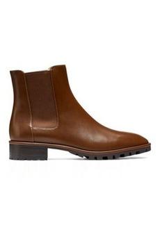 Stuart Weitzman Laine Booties, Coffee Brown Leather, Size: 10.5 Medium