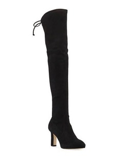 Stuart Weitzman Ledyland Suede Over-The-Knee Boots