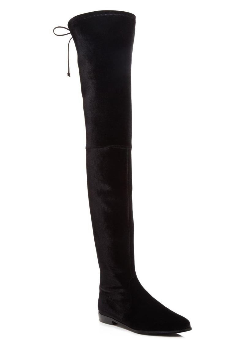 66035e55139 Stuart Weitzman Stuart Weitzman Leggylady Velvet Over The Knee Boots