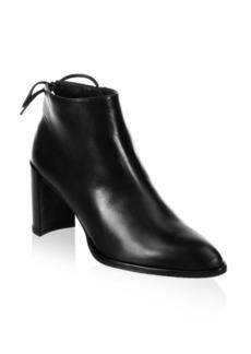 Stuart Weitzman Lofty Leather Booties