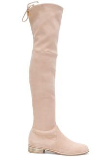Stuart Weitzman Lowland over the knee boots - Pink & Purple