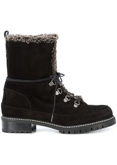 Stuart Weitzman Luge hiking boots - Black