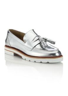 Stuart Weitzman Manila Leather Loafers