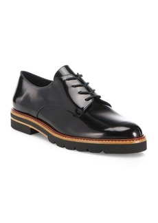 Stuart Weitzman Metro Patent Leather Oxfords