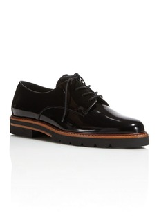 Stuart Weitzman Metro Platform Lace Up Oxfords