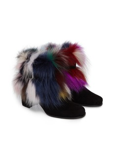 Stuart Weitzman Midgofurit Genuine Fox Fur Bootie (Women)