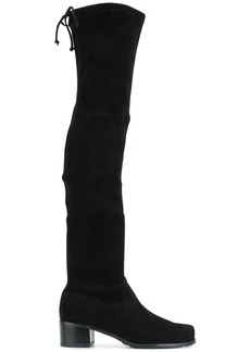 Stuart Weitzman Midland suede boots - Black