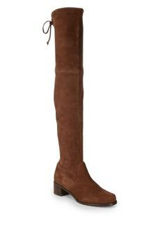 Stuart Weitzman Midland Suede Over-the-Knee Boots