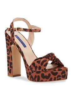 Stuart Weitzman Mirri Cheetah Platform Sandals