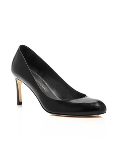 Stuart Weitzman Moody Leather High Heel Pumps