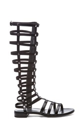 Stuart Weitzman Nappa Leather Gladiator Sandals