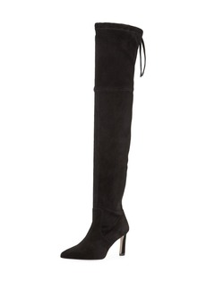 Stuart Weitzman Natalia 75mm Suede Over-The-Knee Boots