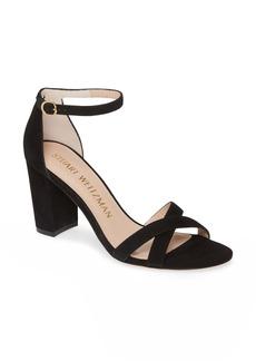 Stuart Weitzman NearlyNude Ankle Strap Sandal (Women)