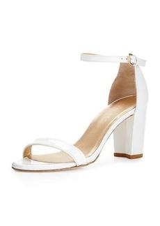 Stuart Weitzman Nearlynude Patent City Sandal