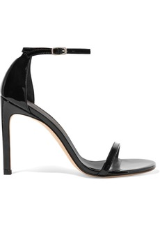 Stuart Weitzman Nudistsong Patent-leather Sandals