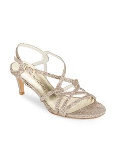 Stuart Weitzman Onmyway Kitten-Heel Sandals