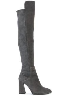 Stuart Weitzman over the knee boots - Grey