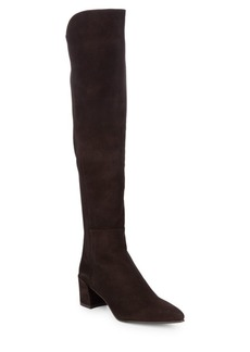 Stuart Weitzman Over-The-Knee Suede Boots