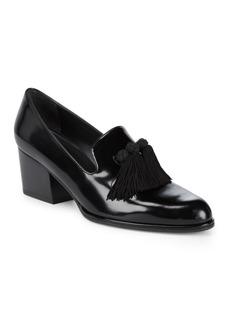 Razmataz Tassel Heeled Loafer