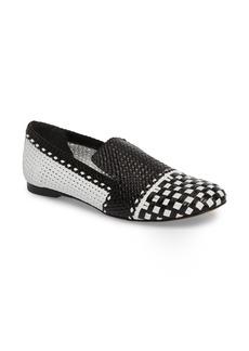 Stuart Weitzman Riviera Woven Loafer (Women)
