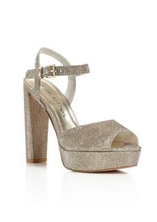 Stuart Weitzman Sashay Platform High Heel Sandals
