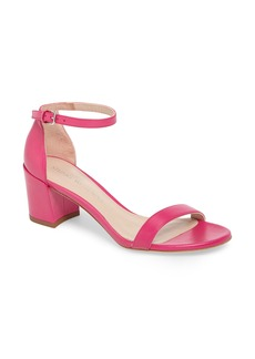 Stuart Weitzman Simple Ankle Strap Sandal (Women)