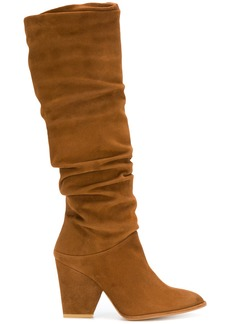 Stuart Weitzman Smashing slouch boots - Brown