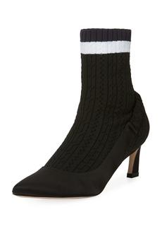 Stuart Weitzman Sockette Sock Pump Bootie