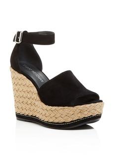 Stuart Weitzman Sohojute Platform Wedge Sandals