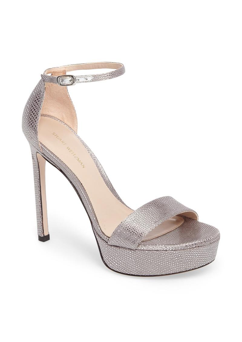 stuart weitzman stuart weitzman sohot crystalline platform sandal women shoes shop it to me. Black Bedroom Furniture Sets. Home Design Ideas