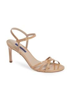 Stuart Weitzman Starla Quarter Strap Sandal (Women)