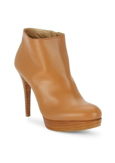Stuart Weitzman Stop It Leather Booties
