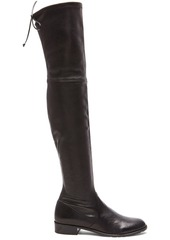 Stuart Weitzman Stretch Leather & Neoprene Lowland Boots