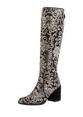 Stuart Weitzman Suburb Embellished Knee Boot